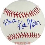 Kate Upton Autographed Official Major League Baseball Inscribed To Chuck