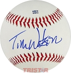Tom Watson Autographed Official Southern League Baseball
