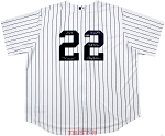 Roger Clemens Autographed New York Yankees Jersey Inscribed Rocket, Cy 7, 324 Ws, 4672 Ks