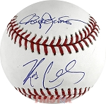 Roger Clemens & Kody Clemens Autographed Official ML Baseball