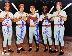 Big Red Machine Autographed Cincinnati Reds 11x14 Photo with 5 Signatures