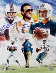 Bob Griese, Don Shula & Dan Marino Autographed Miami Dolphins 11x14 Photo LE/513