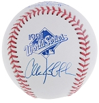 Chuck Knoblauch Autographed Official 1991 World Series Baseball