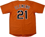 Roger Clemens Autographed 1983 Texas Longhorns Custom Jersey