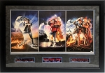 Fox, Lloyd, Thompson & More Autographed Back to the Future 36x20 Lithograph