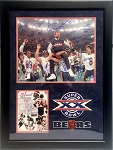 1985 Chicago Bears Autographed Super Bowl XX Champs 16x20 Photo - 31 Signatures + Walter Payton