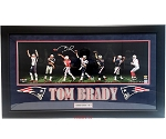 Tom Brady Autographed New England Patriots 36x12 Photo Player's Edition 5/9