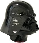 James Earl Jones & David Prowse Autographed 'Star Wars' Darth Vader Helmet