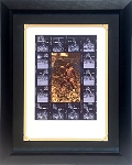 Michael Jordan Autographed Chicago Bulls Filmstrip 16x20 Photo Framed