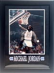 Michael Jordan Autographed University of North Carolina 16x20 Photo Framed