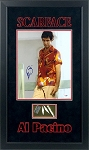 Al Pacino Autographed Scarface 11x14 Photo Framed