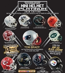 TRISTAR Hidden Treasures Autographed Mini Helmet - 2020 Platinum Edition (1 Box)