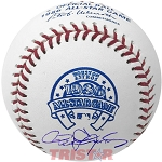 Roger Clemens Autographed 1986 All-Star Game Baseball
