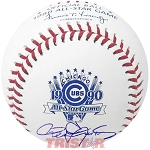 Roger Clemens Autographed 1990 All-Star Game Baseball