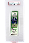 Nolan Ryan Autographed 7th No-Hitter Game Ticket PSA Grade EX-MT 6