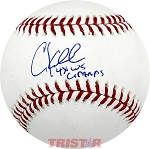 Chuck Knoblauch Autographed Official Major League Baseball Inscribed 4x WS Champs