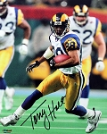 Torry Holt Autographed St. Louis Rams 8x10 Photo