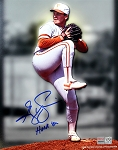 Greg Swindell Autographed University of Texas Longhorns 8x10 Photo Inscribed Hook Em