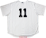 Chuck Knoblauch Autographed New York Yankees Jersey Inscribed 91 AL ROY, 4x WS Champs & More