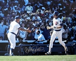 Ryne Sandberg Autographed Chicago Cubs 16x20 Photo Inscribed The Sandberg Game