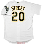 Huston Street Autographed Oakland Athletics Jersey