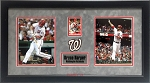 Bryce Harper Autographed Washington Nationals 2014 Topps Card Framed