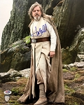 Mark Hamill Autographed 'Star Wars: The Last Jedi' 11x14 Photo