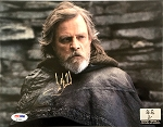 Mark Hamill Autographed 'Star Wars: The Last Jedi' 8x10 Photo