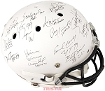 College Football's Best Autographed Full Size White Helmet - 23 Heisman Winners Signatures