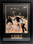 USA Basketball Team Autographed 1972 Olympics 16x20 Photo - 13 Signatures
