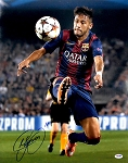 Neymar Autographed Barcelona F.C. 16x20 Photo
