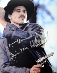 Val Kilmer Autographed 'Tombstone' 11x14 Photo Inscribed I'm Your Huckleberry