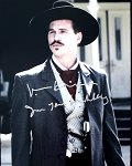 Val Kilmer Autographed 'Tombstone' 16x20 Photo Inscribed I'm Your Huckleberry