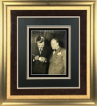 Babe Ruth Autographed 11x14 Photo Framed