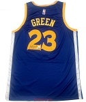 Draymond Green Autographed Golden State Warriors Jersey