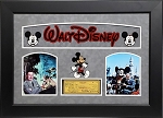 Walt Disney Signed Personal Check Framed
