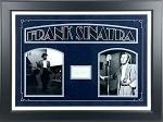 Frank Sinatra Autographed Cut Signature Framed