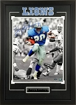 Barry Sanders Autographed Detroit Lions 16x20 Photo Framed