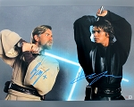 Ewan McGregor & Hayden Christensen Autographed Star Wars 16x20 Photo