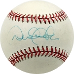 Derek Jeter Autographed Official American League Baseball - Early Signature