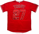 Mike Trout Autographed Los Angeles Angels Authentic Jersey