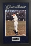 Joe DiMaggio Autographed Framed New York Yankees 16x20 Photo