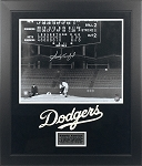 Sandy Koufax Autographed Los Angeles Dodgers 16x20 Photo Framed