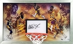 Magic Johnson Autographed 'Champion' Backboard