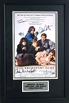 The Breakfast Club Cast Autographed Framed 11x17 Mini Movie Poster - 5 Signatures