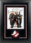 Ghostbusters Cast Autographed Framed 8x10 Photo - 5 Signatures