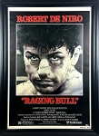 'Raging Bull' Cast Autographed Movie Poster Framed