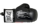 Sylvester Stallone Autographed Black Boxing Glove