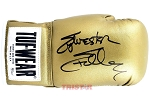 Sylvester Stallone Autographed Gold Boxing Glove