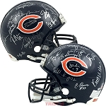1985 Chicago Bears Autographed Authentic Proline Full Size Helmet - 30 Signatures